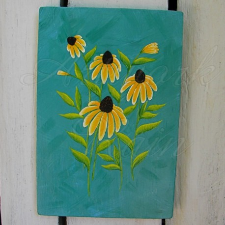 Original Black Eyed Susan Painting
