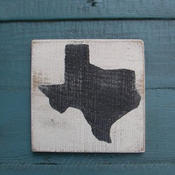 State Sign Texas Rustic Painting Shape Decor Primitive Folk Art Reclaimed Wood Customize State Farmhouse Colors