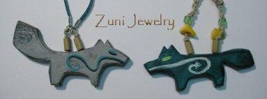 Zuni Figure Jewelry