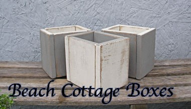 Beach Cottage Boxes